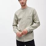 LITAA Hemd aus Bio-Baumwolle military green – € 79,90