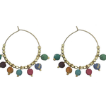 Kantha Bauble Hoops – 19 €