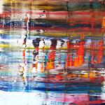 KERSTIN SOKOLL, Vorbeigefrostet, 2018, I002, 80 x 80 cm, SOLD
