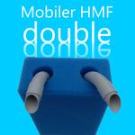 Ein Filter, der nach dem Prinzip des Hamburger Mattenfilters arbeitet.