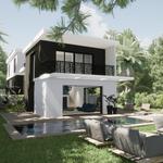 Avant-projet pour une villa au Cap d'Antibes