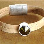 bracelet avec cabochon