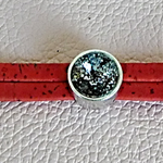 bracelet liège rouge et noir
