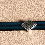 bracelet cuir véritable ; joli bracelet pour soirée bracelet homme ; cadeau cuir