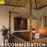 Stay in one of our beautiful riverside bungalows or rooms. Click here to read more.
