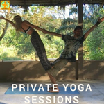 You can book a private session with our yoga teacher. Click here to read more.