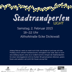 "Kunde: Stadtrandperlen | Plakat ""Light"""