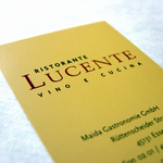 Kunde: Lucente | Signet + Geschäftsausstattung