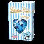 cuoricini selection azzurro al cioccolato 500g