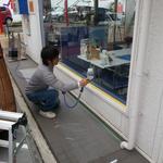 ガラス汚れ防止コーティング