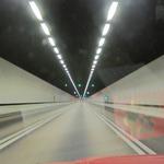 トンネル内全景
