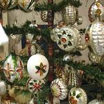 Oude kerstversiering