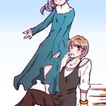 アキちゃんと夏希さん 差分