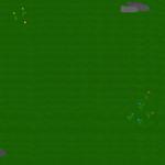 so könnten die Pflanzen und Steine auf der Map platziert sein