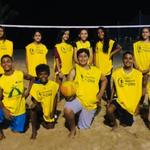 Teilnehmer Beach Volleyball Unterricht