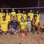 Teilnehmer Beach Soccer Unterricht