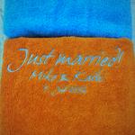 Stick auf Handtuch