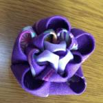 カメリアピンクリップ 紫