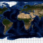Plattkarten Projektion