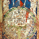 Psalter Weltkarte