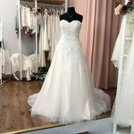 Brautkleid, Hochzeitskleid, A-Linie, Prinzessin, Gr. 40 Neu und ungetragen, 1.200,00 Euro (Neupreis 1.400,00)