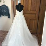 Brautkleid, Neu und ungetragen, Prinzessin, A-Linie Gr. 36,  Tüllrock, Demetrios
