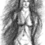 Frau in Dessous