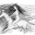 Amazone zu Pferde