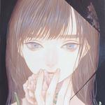 「キリトリ2」 140x180mm キャンバスにアクリル Acrylic on Canvas