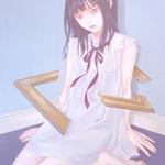 「定まらない」 455x530mm キャンバスにアクリル Acrylic on Canvas