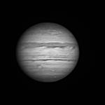Jupiter, Dobson 355 + filtre IR 742, juillet 2019, Dordogne, Lionel