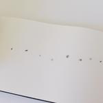 """Encre silence, """"L'oiseau sautille sur la neige, points de suspension"""",  édition limitée, 2015"""