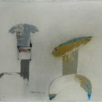 Femme galet, encre sur papier Arches, 76x57 cm, 2005