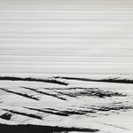 Pinceau paysage, encre japonaise sur papier Rivoli, 100x80 cm, 2017