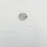 Effleurement, gravure pointe sèche, 40x40 cm, 1/1, 2009