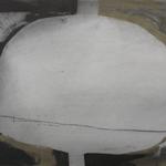 Plein et vide, encre sur papier Arches, 76x57 cm, 1991