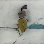 A la croisée des chemins, encre sur papier Arches, 76x57 cm, 2005