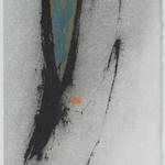 Portrait, encre sur papier Arches, 19x57 cm, 2005
