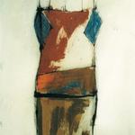 Afrique, encre sur papier Arches, 57x76 cm, 1991