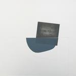 Un point d'équilibre, lino et gaufrage, 40x40 cm, 1/1, 2005