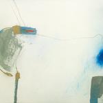 En plein vol, encre sur papier Arches, 76x57 cm, 2007
