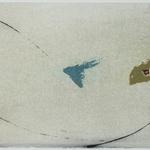 Arabesque, encre sur papier Arches, 76x19 cm, 2005