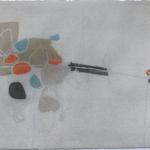 Donner le mouvement, encre sur papier Arches, 76x57 cm, 2008