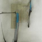 Tempo, encre sur papier Arches, 57x76 cm, 2011