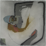 Corps à corps, encre sur papier Arches, 76x57 cm, 2005