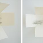 Papillon de jour, gravure pointe sèche, 50x50 cm, Arches, 2006