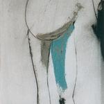 Amour, encre sur papier Arches, 29x76 cm, 1998