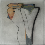 Le baiser, encre sur papier Arches, 76x57 cm, 2005