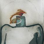 Sans titre, encre sur papier Arches, 57x57 cm, 1999