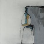 Amoureux, encre sur papier Arches, 57x57 cm, 2005